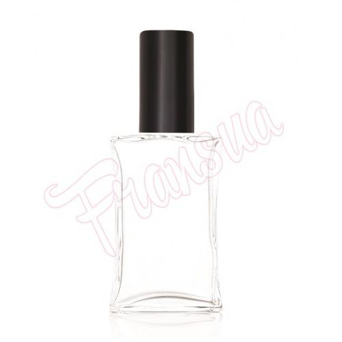 Флакон Караваджио 100 мл. стеклянный с черным металлическим спреем