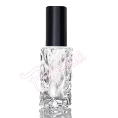 Флакон Матильда 20 мл. стеклянный с черным металлическим спреем