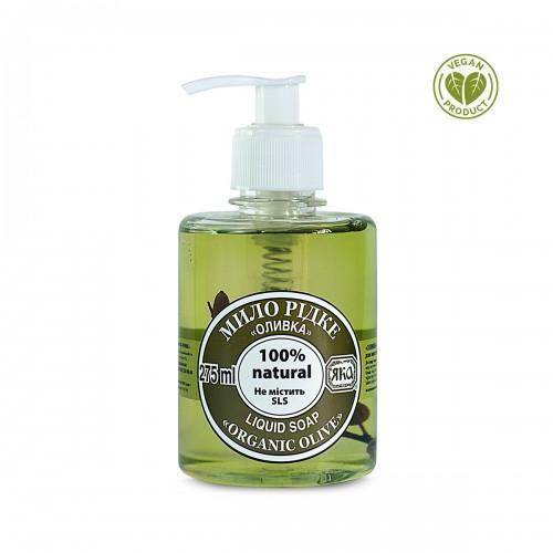 Мыло натуральное жидкое Оливка